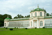 Kuskovo estate, Moscow: Greenhouse — Stock Photo