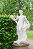 Kuskovo estate, Moscow: Bacchus statue — Stock Photo