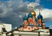 Orthodox church in Moscow — Stockfoto