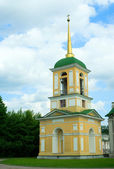 Kuskovo estate, Moscow: bell tower — Fotografia Stock