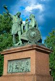 Monumento a minin y pozharsky — Foto de Stock