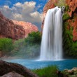 Stunning Waterfall - Foto Stock