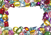 Jeweled Border — Stock Photo
