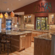 Foto Stock: Remodeled Kitchen