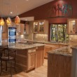Stock Photo: Remodeled Kitchen