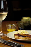 Jantar de carne de porco — Fotografia Stock