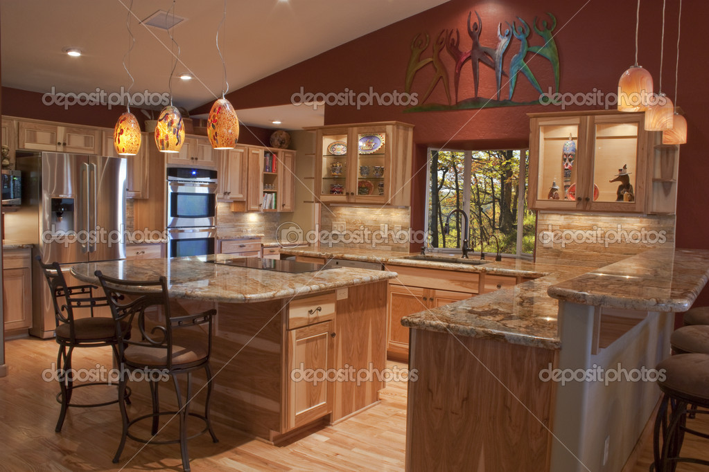 Http Depositphotos Com 3108809 Stock Photo Remodeled Kitchen Html