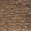 Textured red brick wall — Stock Photo