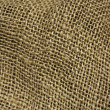 Burlap fabric background — Stock Photo