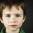 Boy with green eyes — Stock Photo
