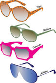 Sunglasses — Vector de stock