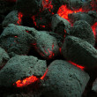Coal briquettes - Stock Photo