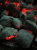 Coal briquettes — Stock Photo
