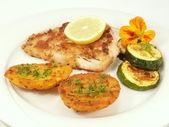 Fish filet — Stock Photo