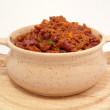 Stock Photo: Red hot chili bepot