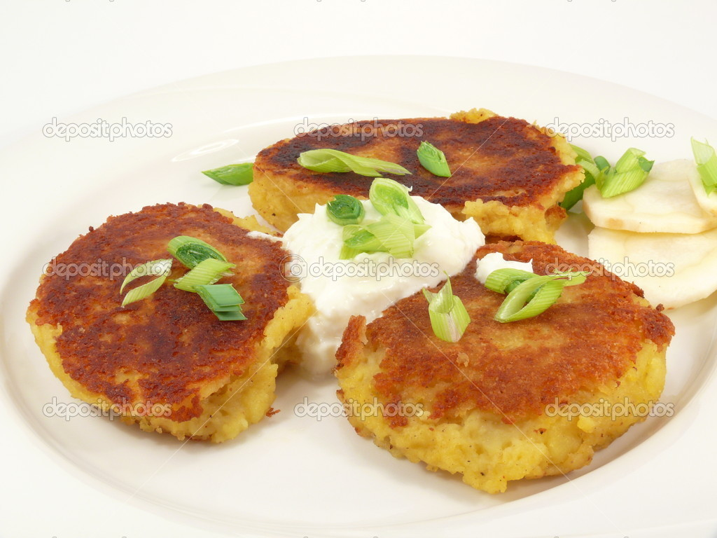 Fresh Potato pancakes — Stock Photo #3302755
