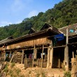 Stock Photo: Hill tribe's house