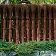 Stock Photo: Japanese fence