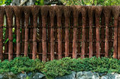 Japanese fence — Stock Photo