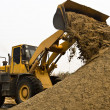 Stock Photo: Working wheel loader