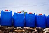Pastic gallons — Stock Photo