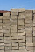 Cement block — Stock Photo
