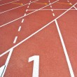 Running track — Stock Photo