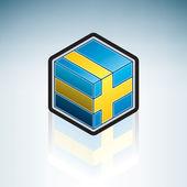 Kingdom of Sweden { Europe } — Vecteur