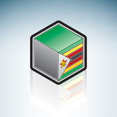 Zimbabwe { Africa } — Stock Vector
