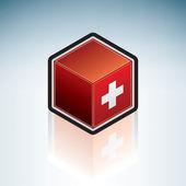 Switzerland { Europe } — Stock Vector