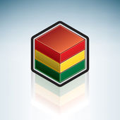 Bolivia { South America } — Stock Vector