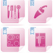 Royalty-Free Stock Vector Image: Kitchen Utensils