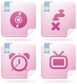 Icone di internet — Vettoriale Stock