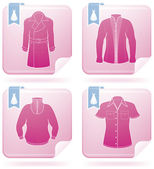Man's Clothing — Stock Vector