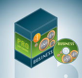 Business Software Bundle — Stock Vector
