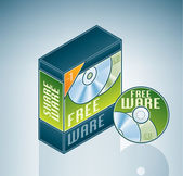 Freeware Software Bundle — Stock Vector