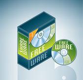 Freeware Software Bundle — Stock Vector
