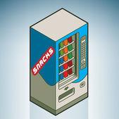 Street Vending Machine — Stock Vector