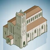 Catholic Church — Stock Vector