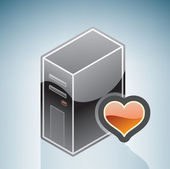 Favorite Hardware Configuration — Stock Vector