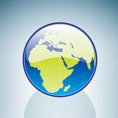 земной шар — Cтоковый вектор