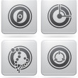 Miscellaneous Platinum Icons — Stock Vector