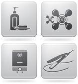 Bathroom Appliances — Stock Vector