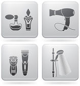 Bathroom utensils — Stock Vector