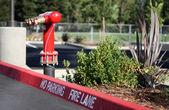 Fire Lane Sign — Stock Photo