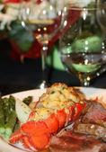Lobster Dinner — Stock Photo