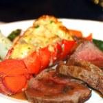 Hummer middag — Stockfoto