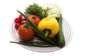 Ingredient for salad — Stockfoto