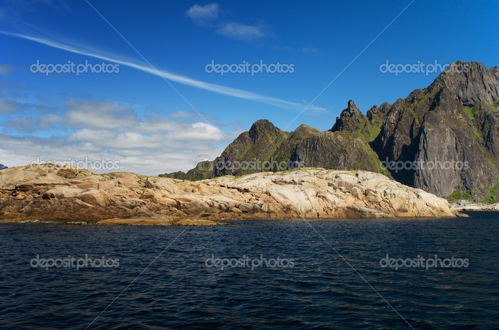 Island Skrova, Lofoten islands, Norway — Stock Photo #3433131