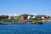 Village Skrova on Lofoten Islands — Stock Photo